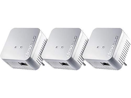 Pack 3x devolo dLAN 550WLAN–flexiblem CPL WLAN 500Mbit/s
