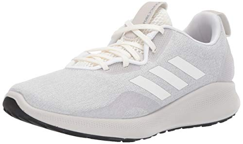 adidas Women's Purebounce+, Cloud White/White/Grey, 8.5 M US