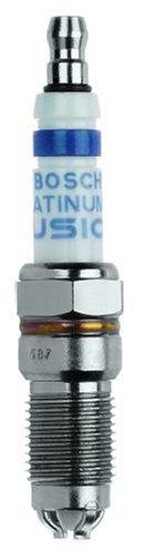 Price comparison product image Bosch (4509) HGR9LQI0 9 Platinum IR Fusion Spark Plug,  (Pack of 1)