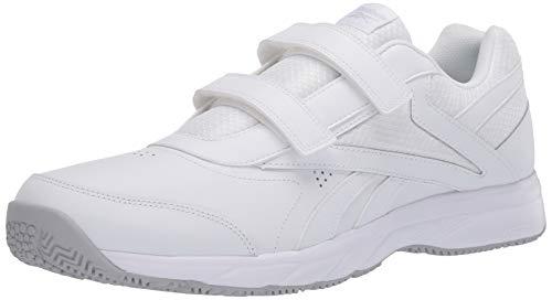 Reebok Men's Work N Cushion 4.0 Walking Shoe, Cold Grey/White 2, 11.5