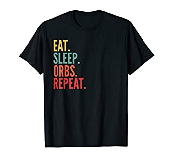 Orbs Crypto Eat Sleep Orbs Repeat T-Shirt