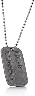 REINDEAR Wolverine X-Men James Logan Army Military Metal Pendant Chain Dog Tag Necklace by