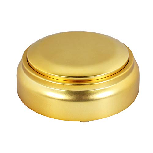 Neutral Recordable Button-Custom Easy Button-30s Gold Sound Effect Button Recordable Make You Own Button (Gold)