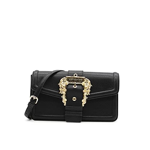 Versace Jeans Couture Borsa tracolla fibbia baroque 71VA4BFA 71578 899 nero