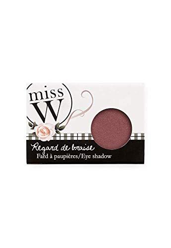 Miss W - Fard a paupieres nacre bio prune - n°039 miss w