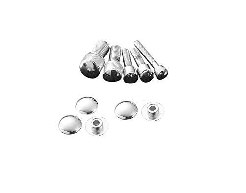 Tapas cromadas, tapas/tapones para tornillos de cabeza Allen de 6 mm (M6) Highway Hawk 03-306