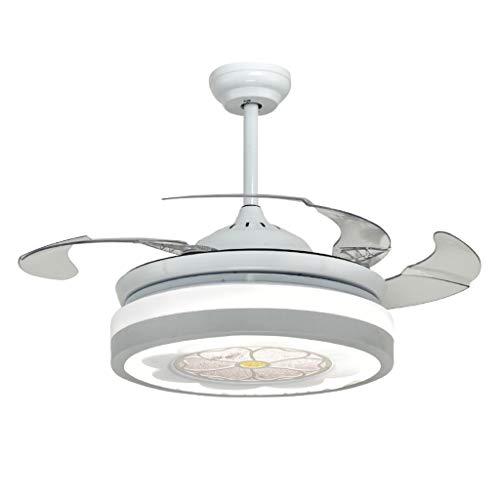 Ventilateurs de plafond avec lampe intégrée Lumière De Ventilateur De Plafond Maison LED Ventilateur De Plafond Lumière Salon De Mode Avec Ventilateur De Plafond Chambre À Coucher Télécommande Contrôl