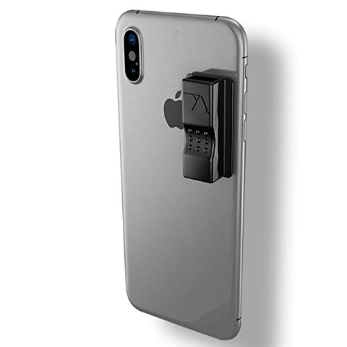 VQ Lite | Cell Phone Holder Compatible with JUUL | Never Forget or Lose Your JUUL | Accessory Compatible with iPhone, Samsung Galaxy, Tablets, Car Dashboard (V2-2019 Version - Black)