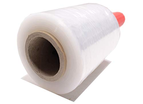 Mini Film transparente para embalar (5 MINI BOBINAS) || Film Estirable || 100 mm ancho X 300gr NO INCLUYE EL DISPENSADOR.