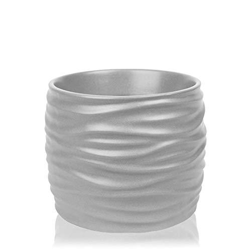 Yankee Candle Noah Grey - Diffusore di fragranza: grigio, 10 x 11,5 cm