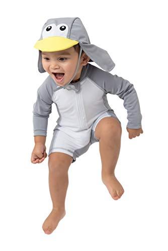 Cuddle Club Bañador Bebé y Niño de una Sola Pieza Anti UV 50+ - Traje de Baño Niño con Protección Solar