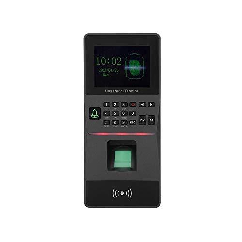 HEQIE-YONGP Timeuhren für Mitarbeiter Kleinunternehmen 2,8-Zoll-TFT-Farbbildschirm Mitarbeiter Fingerabdruck-Anwesenheits-Leser