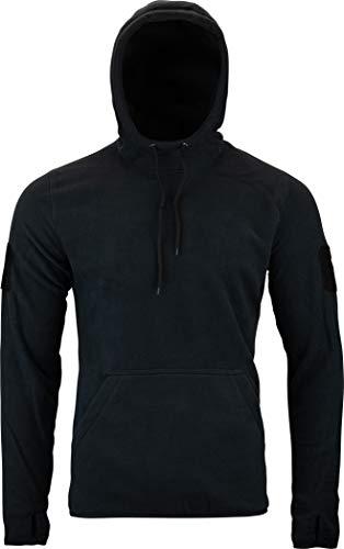 Viper TACTICAL - Sweatshirt à Capuche - pour Homme - en Polaire - Noir - L