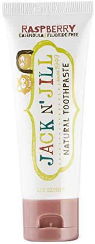 Jack N 'Jill Framboise Dentifrice Naturel Aromatisant 50G Organique