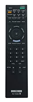 RM-YD035 Replaced Remote fit for Sony TV KDL-22BX300 KDL-32BX300 KDL-32EX301 KDL-32EX400 KDL-32FA600 KDL-40EX400 KDL-40EX401 KDL-46EX400 KDL-46EX401