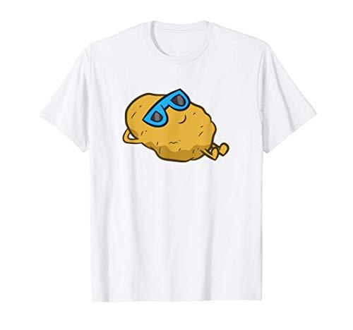 Patata Con Gli Occhiali Da Sole Rilassante Patata Maglietta