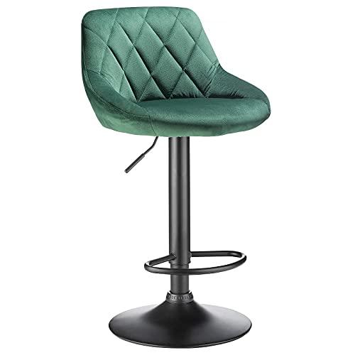 BlueOcean Furniture - Juego de 2 taburetes giratorios de ter