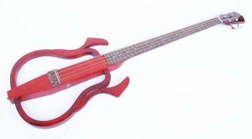 Neu im Angebot: Silent Bass, 4 Saiten, braun