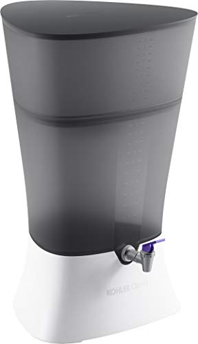Kohler K-20855-CRB Clarity Explore Water Filtration, Charcoal Ombre