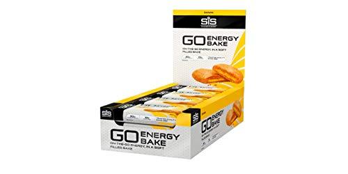 Science in Sport Go Energy Bakes-Banana 12 Pack