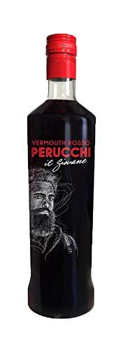Vermouth Perucchi Rosso – 15% Alcohol – Elaborado en España – Sin envejecimiento – Selección Vins&Co - 1000 ml