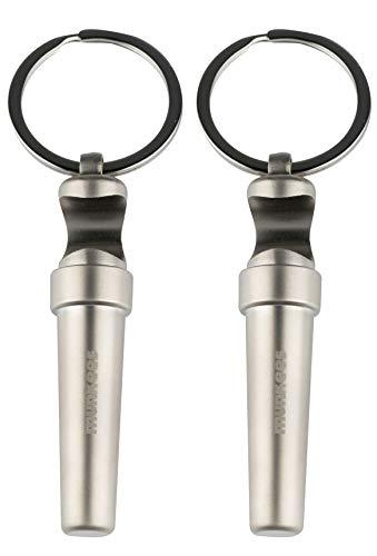 munkees 2 x Schlüsselanhänger Korkenzieher Flaschenöffner, Doppelpack, 34599