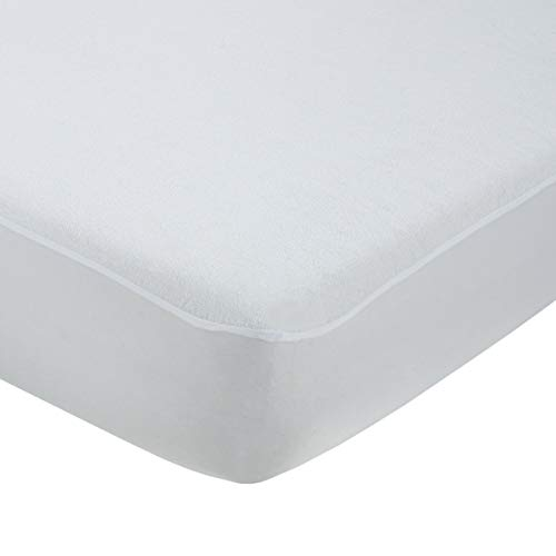 donurmy – Protector Colchón/Cubre Colchón Eco 100% Reciclado, Impermeable Vinilo Soja, antiácaros, Cama 150x190/200 cm (Más Medidas)