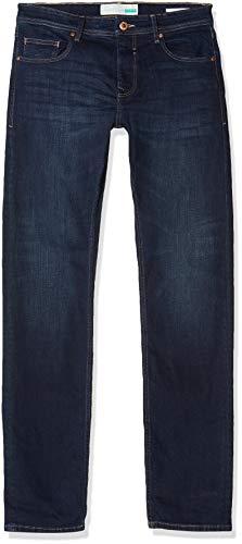 ESPRIT Herren 998EE2B808 Straight Jeans, Blau (Blue Dark Wash 901), W34/L36 (Herstellergröße: 34/36)