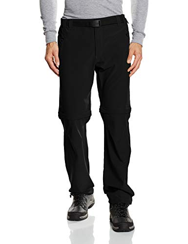 CMP Zip-off 3T51647, Pantaloni Uomo, Nero (Black Antracite), L