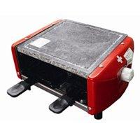 ラクレットグリル 4人用 Raclette grill for 4 persons stone ヌーベル 3役便利