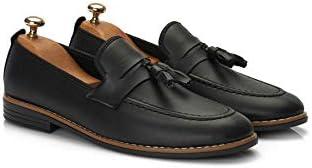Muggo M207 Günlük Erkek Ayakkabı Siyah Rugan-44