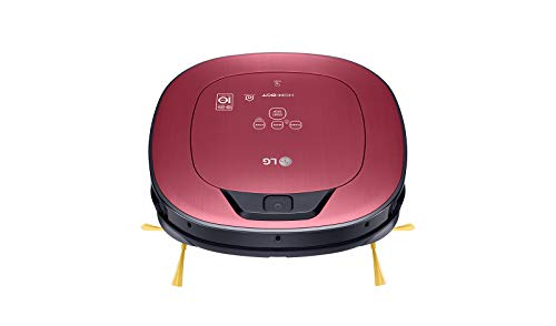 LG Hombot - Robot aspirapolvere Serie 9+ | Case con bambini e tappeti