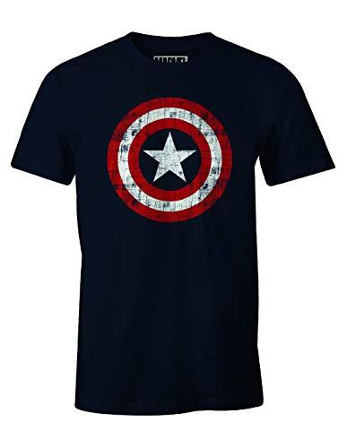 T-Shirt Captain America Marvel - The Shield