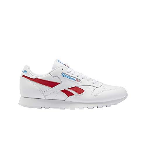 Reebok Classic Leather Weiss Rot Blau