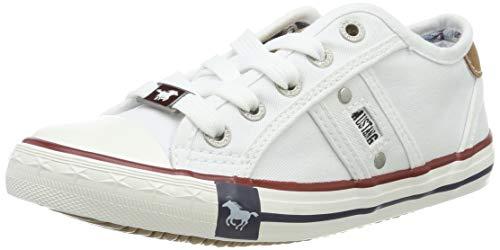 Mustang - 5803-405-1, Zapatillas sin Cordones Unisex Niños, Blanco (Weiß 1)