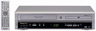 Panasonic PV-D734S Double Feature DVD/VCR Combination Deck, Silver