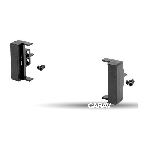 carav 11–005 DIN Autoradio Radioblende DVD Dash Installation Kit für Audi A2 (8Z), A3 (8L) 2000, A4 (B5), A6 (4B), A6 (4B) Faszie