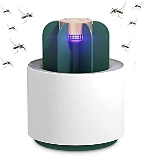 SJTL Pequeño Lámpara Matamoscas Electrico Luz UV Lámpara Repelente Zapper de Mosquitos Mosca Carga USB Trampas para Insectos Mosquito Killer para Mata Mosquitos Insectos Polillas Moscas