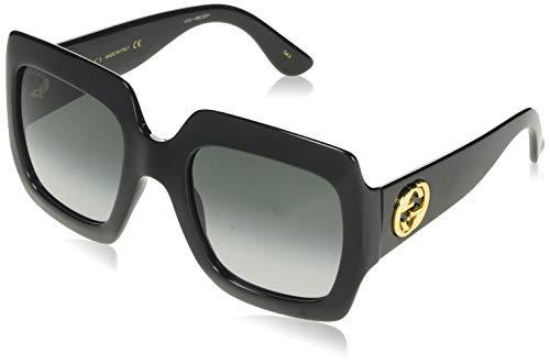 Gucci GG0097S, Occhiali da sole Donna, Giallo (Yellow/Brown 004), 56