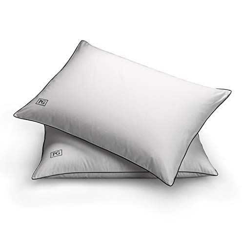 Pillow Guy White Down Side & Back Sleeper Overstuffed Pillow Certified RDS (Set of 2) King