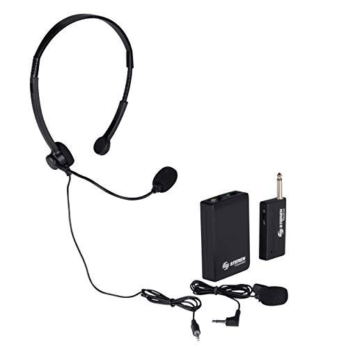 Steren Mic-290 Microfono Inalambrico De Diadema/Solapa