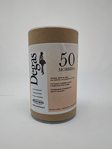 prochima pl050g500Degas 50RAL morbida7045, plastilina de uso Profesional, 500gr