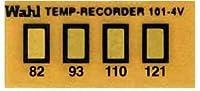 Wahl Instruments 真空用テンプ・プレート(不可逆性) 4点表示 101-4V-082