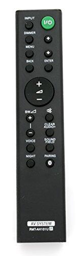 Télécommande VINABTY RMT-AH101U Compatible avec la Barre de Son Sony HT-CT380 HT-CT780 SA-CT380 SA-WCT380 Ht-ct381