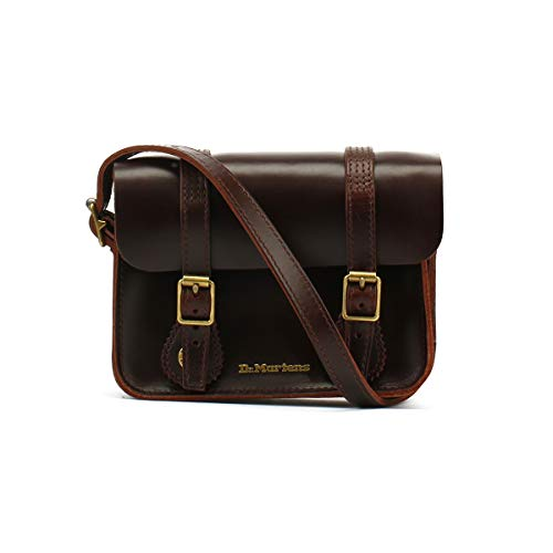 Dr. Martens 7 Inch Leather Satchel AB098230; Unisex Bag; AB098230; Brown; One Size EU (UK)