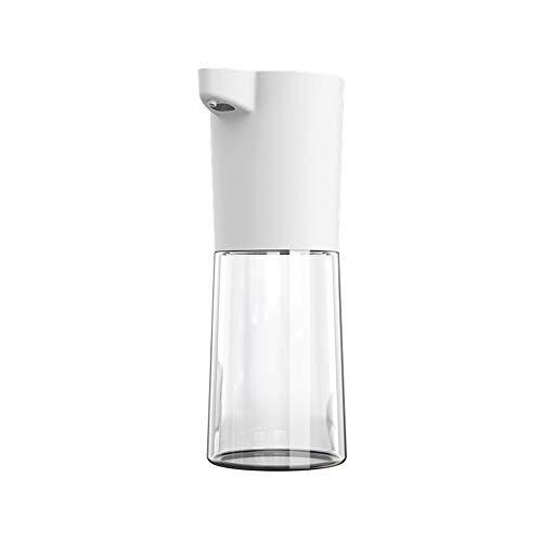 TIMAW Teléfono de Lavado de Sensor de Espuma automático, dispensador de jabón de 500 ml, dispensador de jabón del Sensor infrarrojo (Color : White)