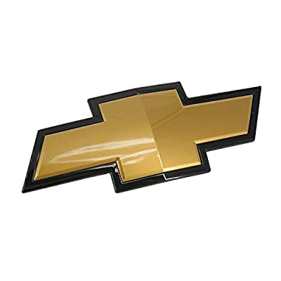 Front Grille Emblem fit for Chevy 2007-2013 Silverado 1500 (Gold)