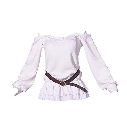 10PCS Overlord Albedo Cosplay Costume Kostüm Tägliche Schuluniform Kleid Niedlicher Rock Anzüge Halloween Karneval Hohe Qualität