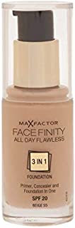Max Factor Facefinity 3 in 1 Foundation 55, Beige (81377978)