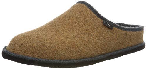 Fargeot SUPER Unisex-Erwachsene Pantoffeln, Camel, 40 EU